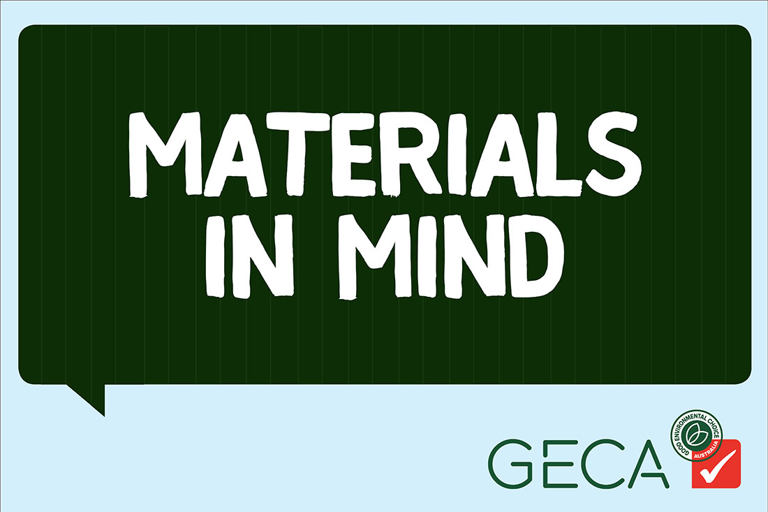 Materials in Mind, GECA's shipping container showcase at SID17