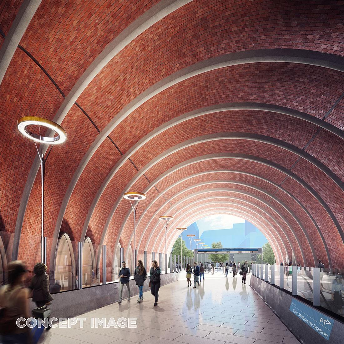 Metro Tunnel designs