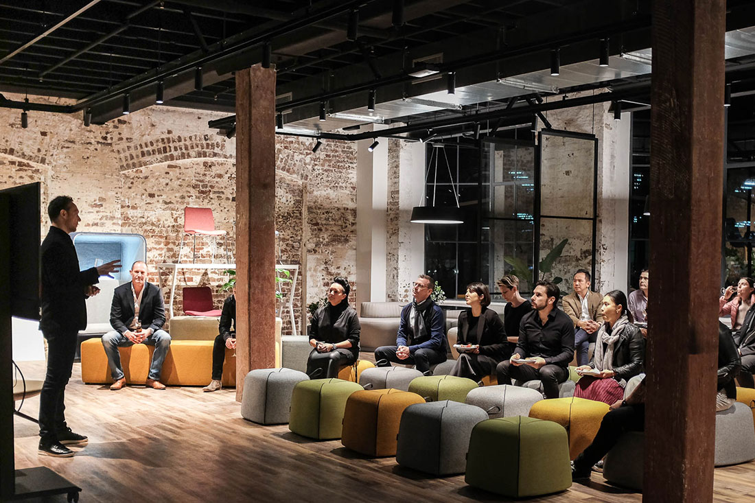 JEB Group Launches Their New Sydney Showroom With An Amazing Presentation from Koleksiyon