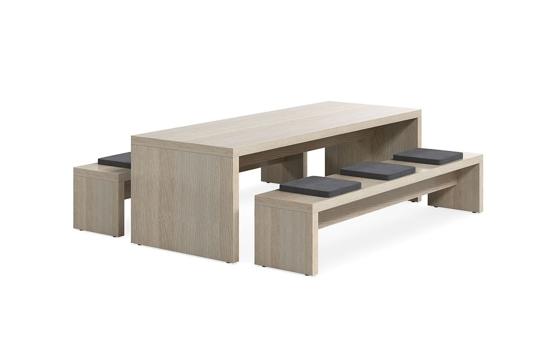 Jive Table and Bench Seats