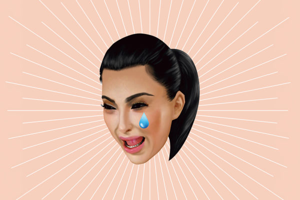 Official 'Kimojis' designed by social experience company, IMVU, commissioned by Kim Kardashian and Kanye West.