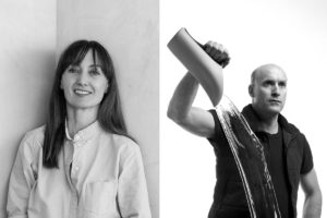 (L-R) Kirsten Stanisich and the late Robert Foster will be inducted into the DIA Hall of Fame