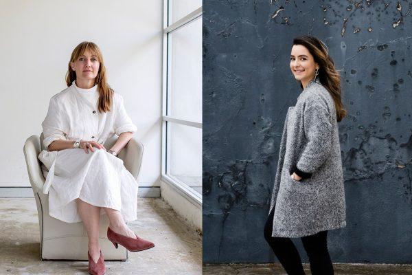 (L-R) Kirsten Stanisich and Manuela Millan.