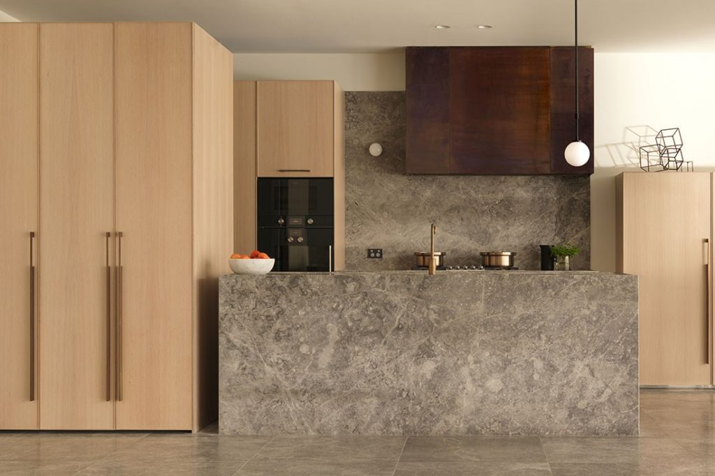 The Elwood House's Gaggenau fitted kitchen