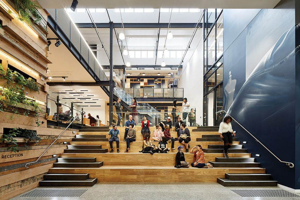 LCI Melbourne Campus by Gray Puksand. Photo by Christine Francis.
