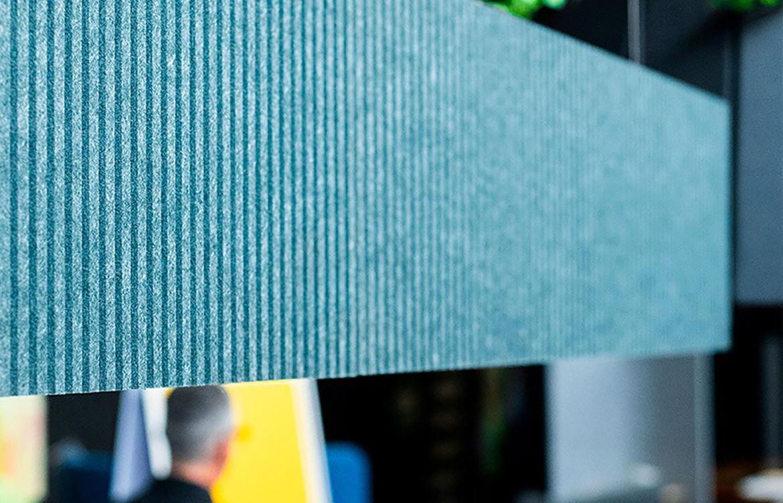 Luxxbox Linea Blue LED Acoustic Light