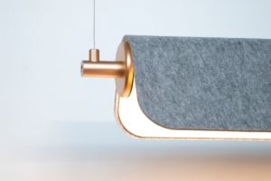 Dasch acoustic pendant light by Luxxbox