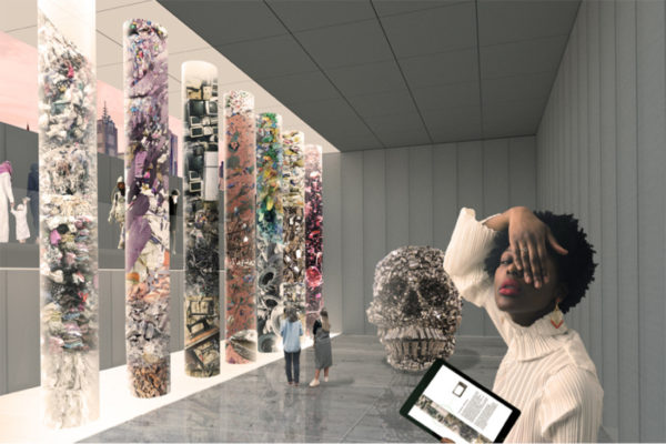Render of Landfill Gallery – A New Normal by DREAMER.