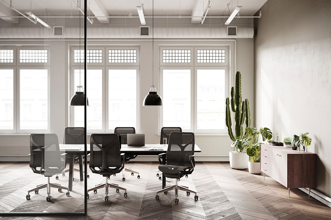 COSM is the latest task chair to be released by Herman Miller.