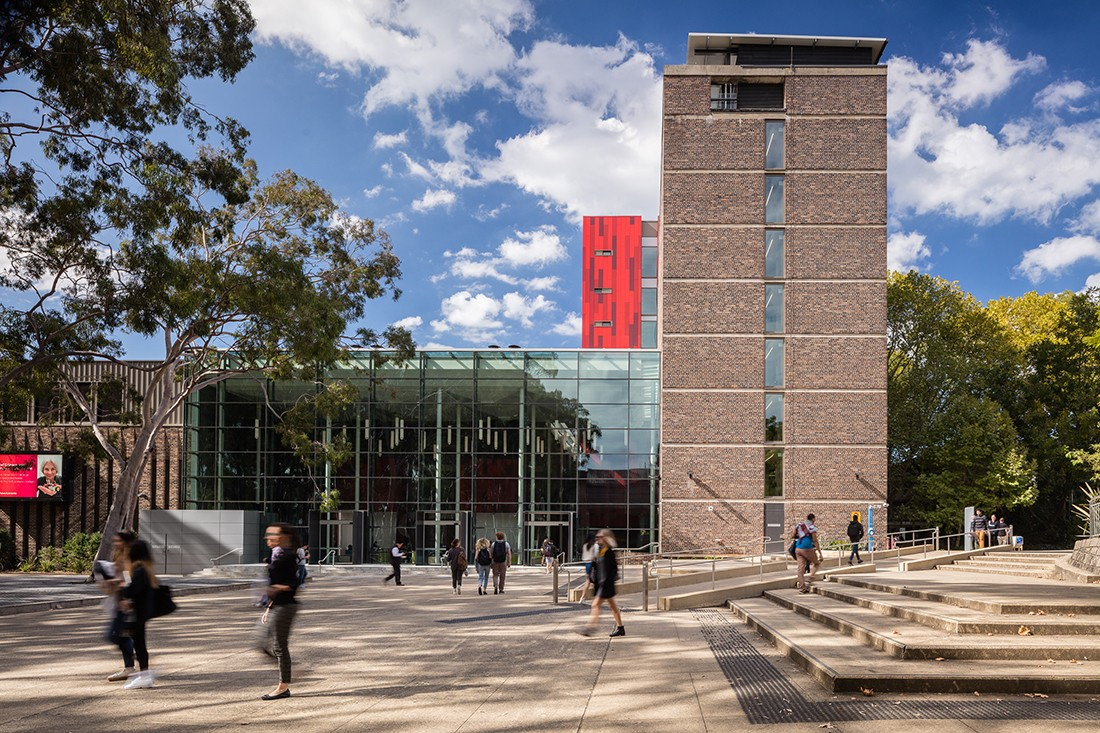 Macquarie University S Mitchell Bld Retrofit By Nbrs Architecture