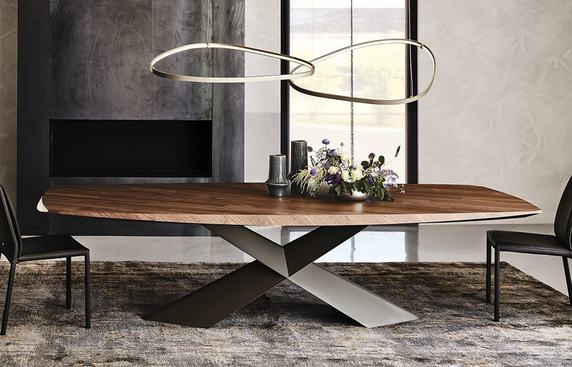 Magellano Lamp Over Brown Table