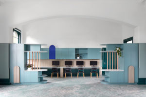 St Michael's Grammar by Christopher Elliott Design