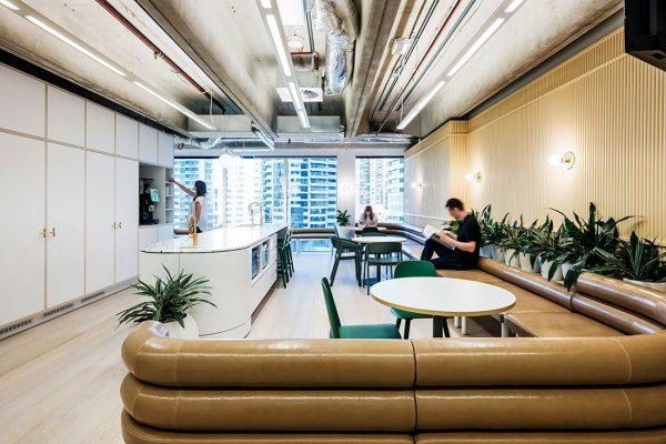 Medibank Gray Puksand CC Robert Walsh lounge