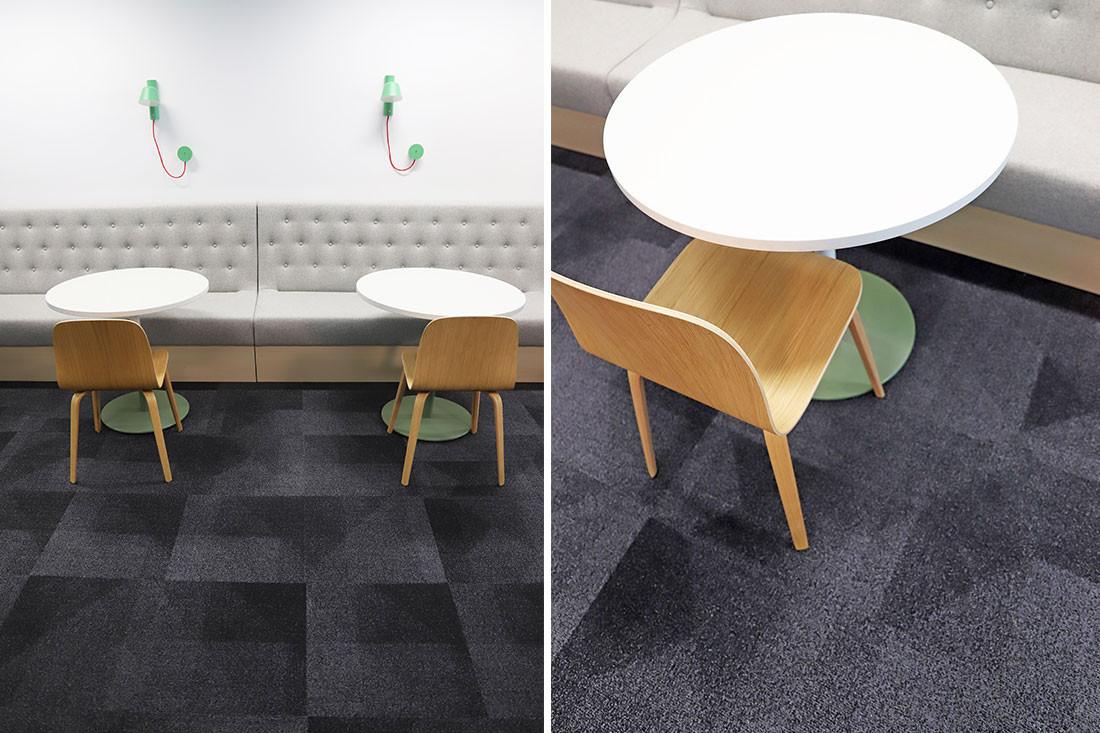 Modular carpeting helps usher in new era for Kimberly Clark
