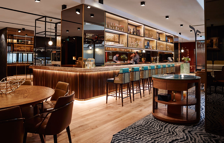 Mode kitchen bar by luchetti krelle architecture design
