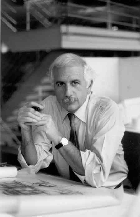 Moshe Safdie, photographed in 2004. Photo by Norma Gòmez.