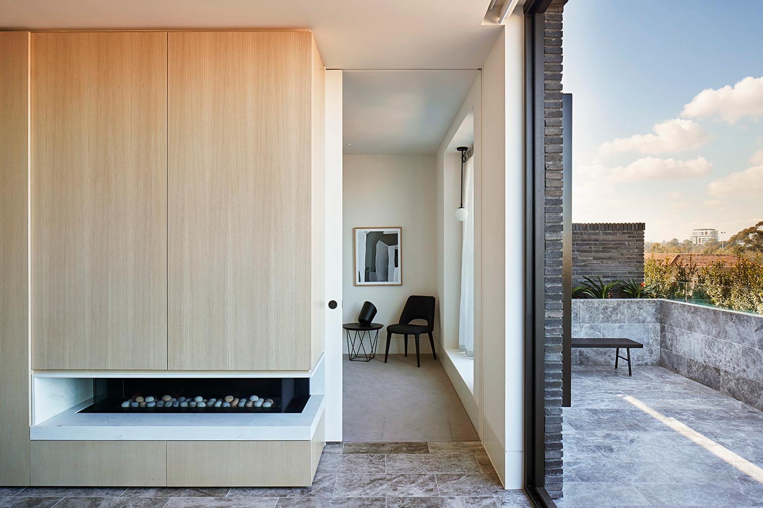 Elwood House by Woods Bagot with Hecker Guthrie. Photo by Shannon McGrath. 2018 INDE.Awards shortlisted project.