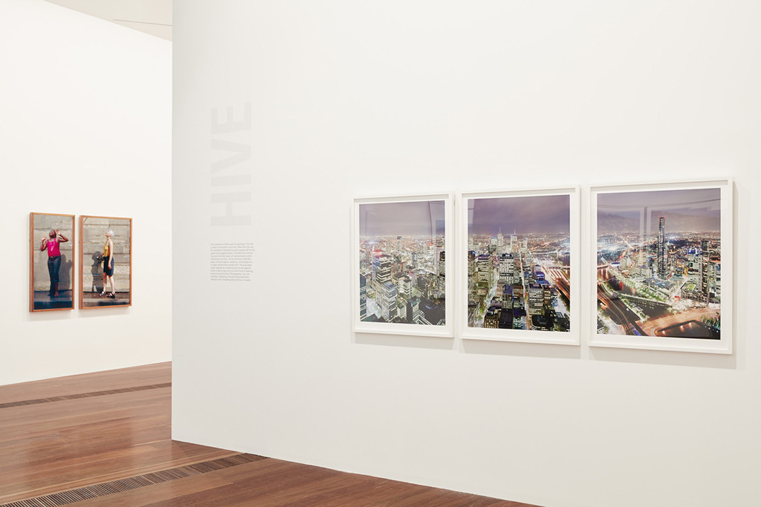 Installation view of Civilization: The Way We Live Now. Photo by Tom Ross.