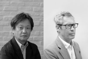 (L-R) Naoto Fukasawa, Maruni's art director. Jasper Morrison, designer and long-time collaborator.