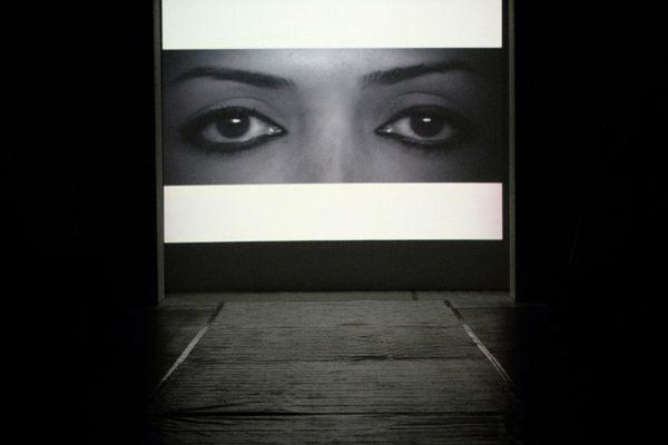 Nasim Nasr, Women in Shadow, Experimental Art Foundation, Adelaide, 2011. Photo: Rodney Magazinovic. Architecture and fashion at SCCI.