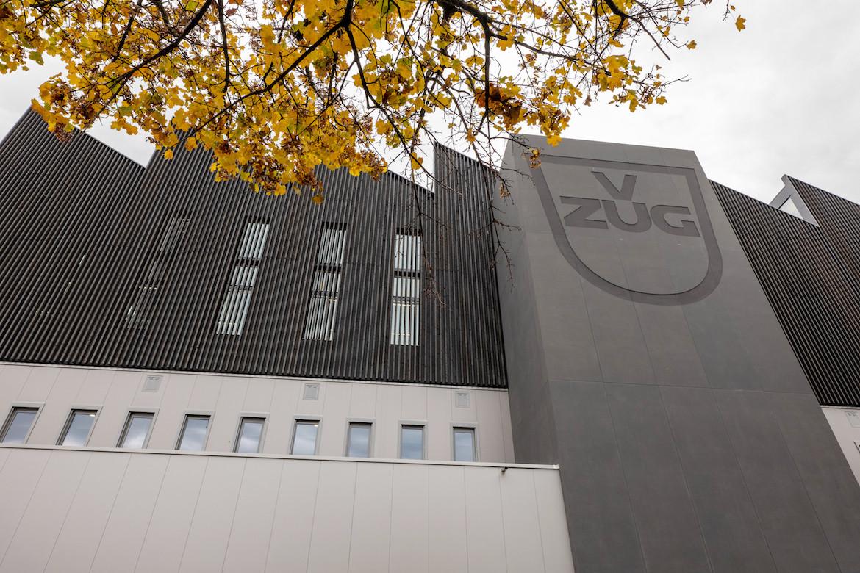 V-ZUG building from below