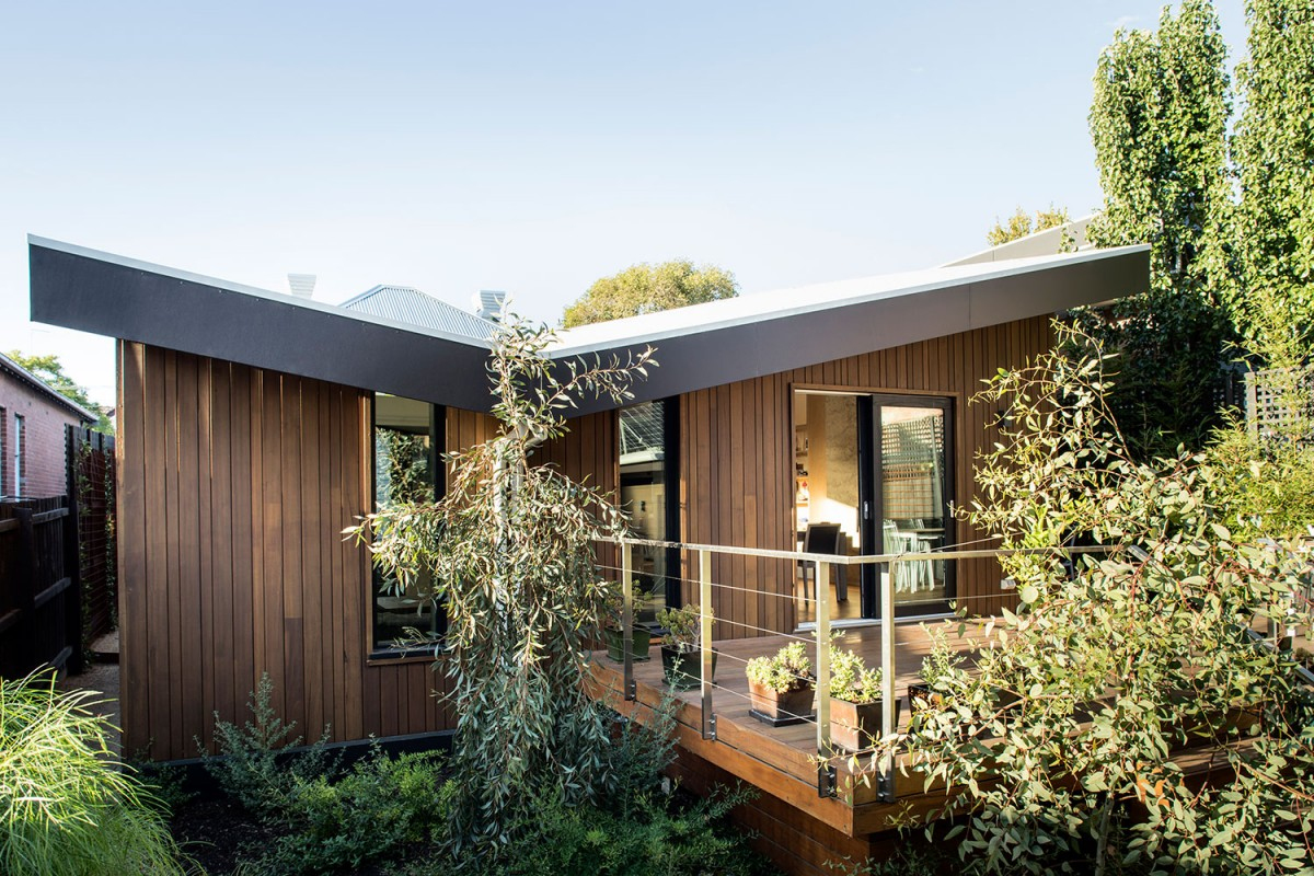Best of the Best (Zip Water) & Single Dwelling Alteration/Addition (Stormtech): Passive Butterfly House by EME Design.