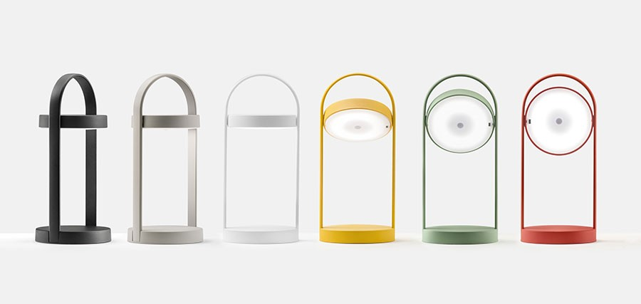 Giravolta by Pedrali is a new portable, LED lamp.