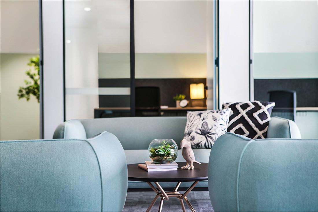 infinity commercial furniture property bank australia fitout mello sofas