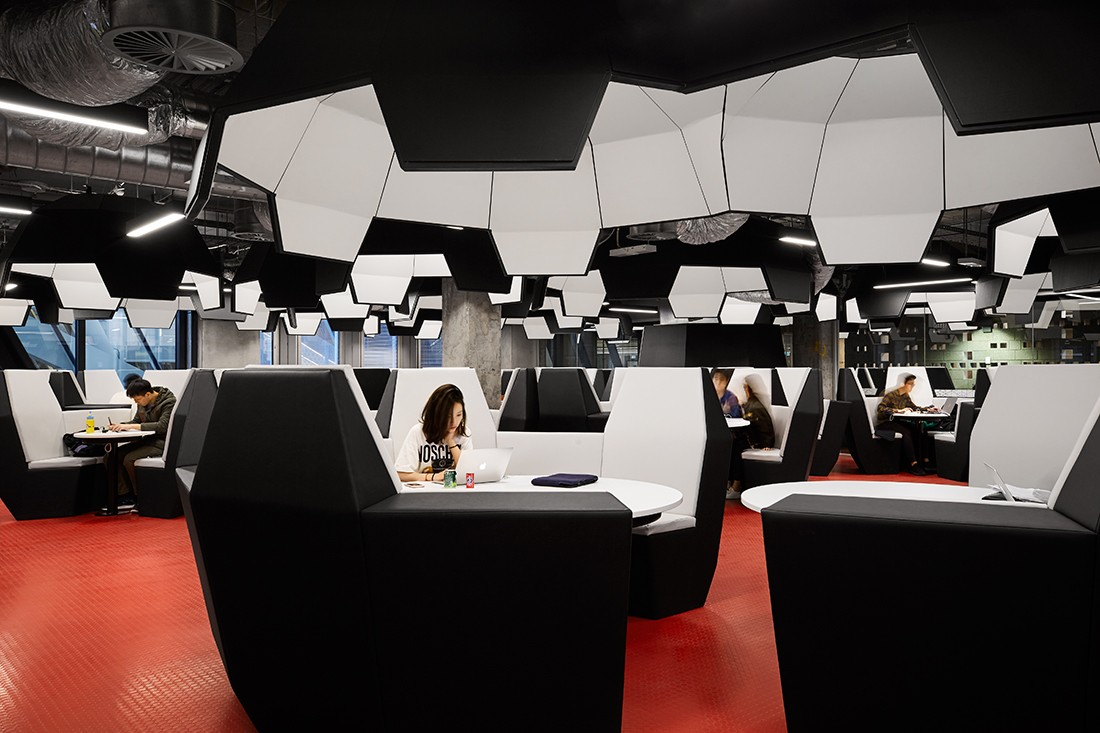 Classroom Design Scholarly ~ Rmit academic street by lyons architecture indesignlive