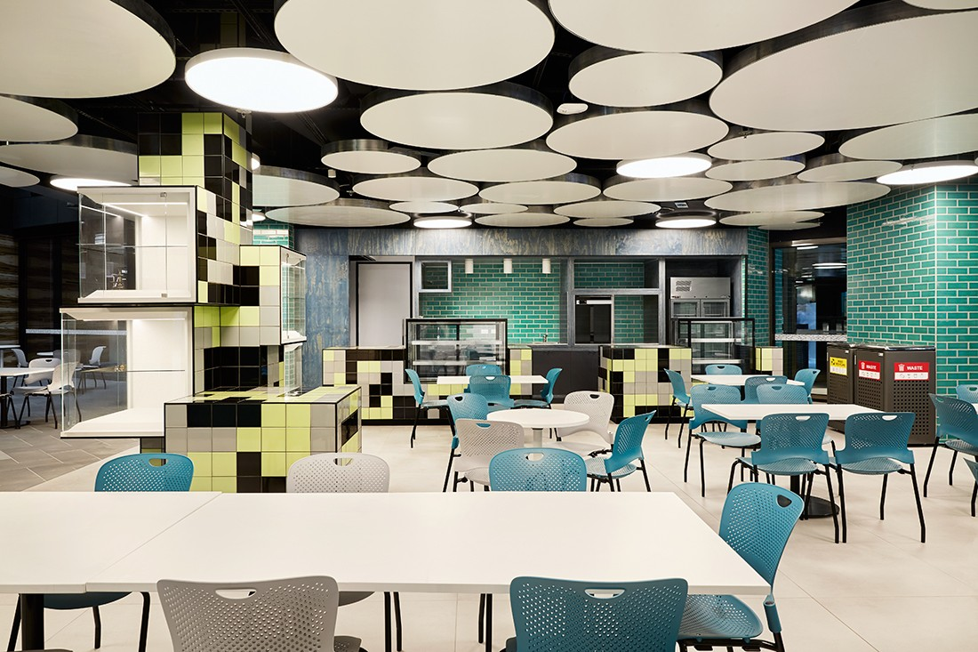 Classroom Design Scholarly : Rmit academic street by lyons architecture indesignlive