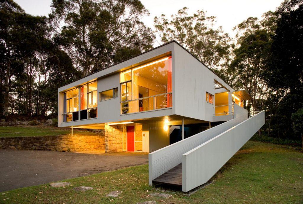 Rose Seidler House by Harry Seidler.
