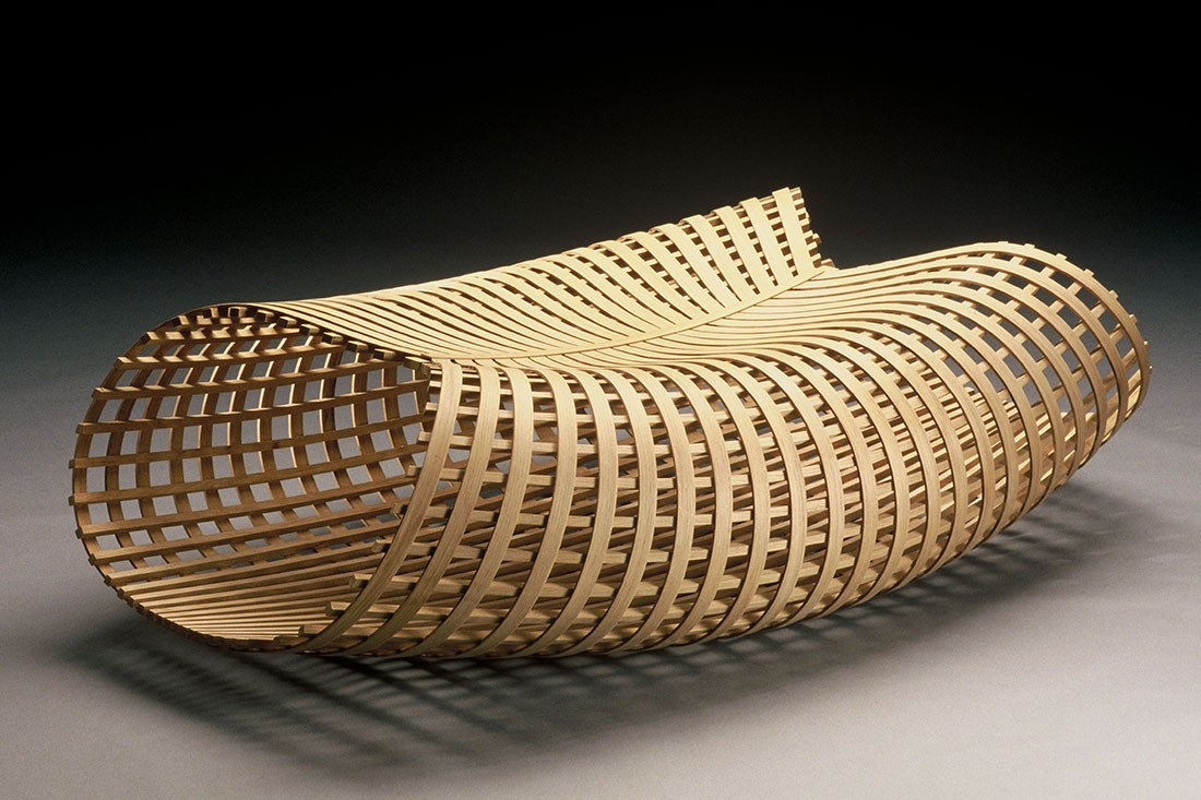 The iconic Raft bench by David Trubridge.