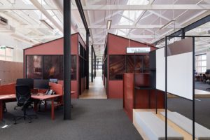 Red Energy is an ABW office by Carr Design.