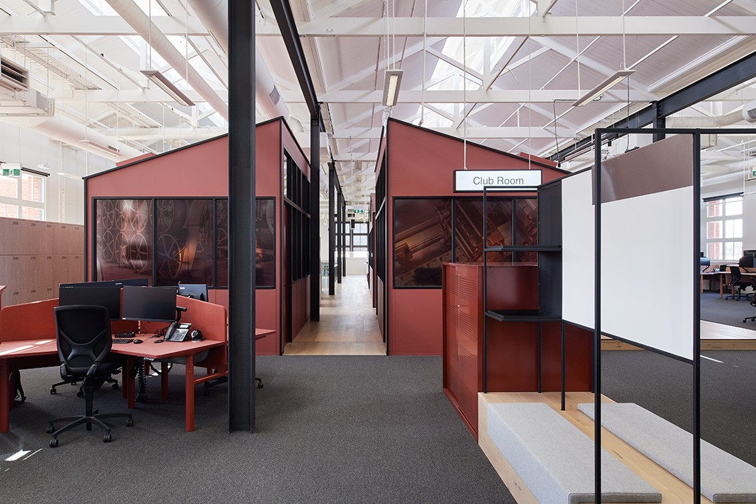 an abw office by carr design reimagines the commercial landscape