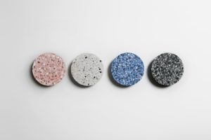 Bentu uses terrazzo off-cuts to make new products.