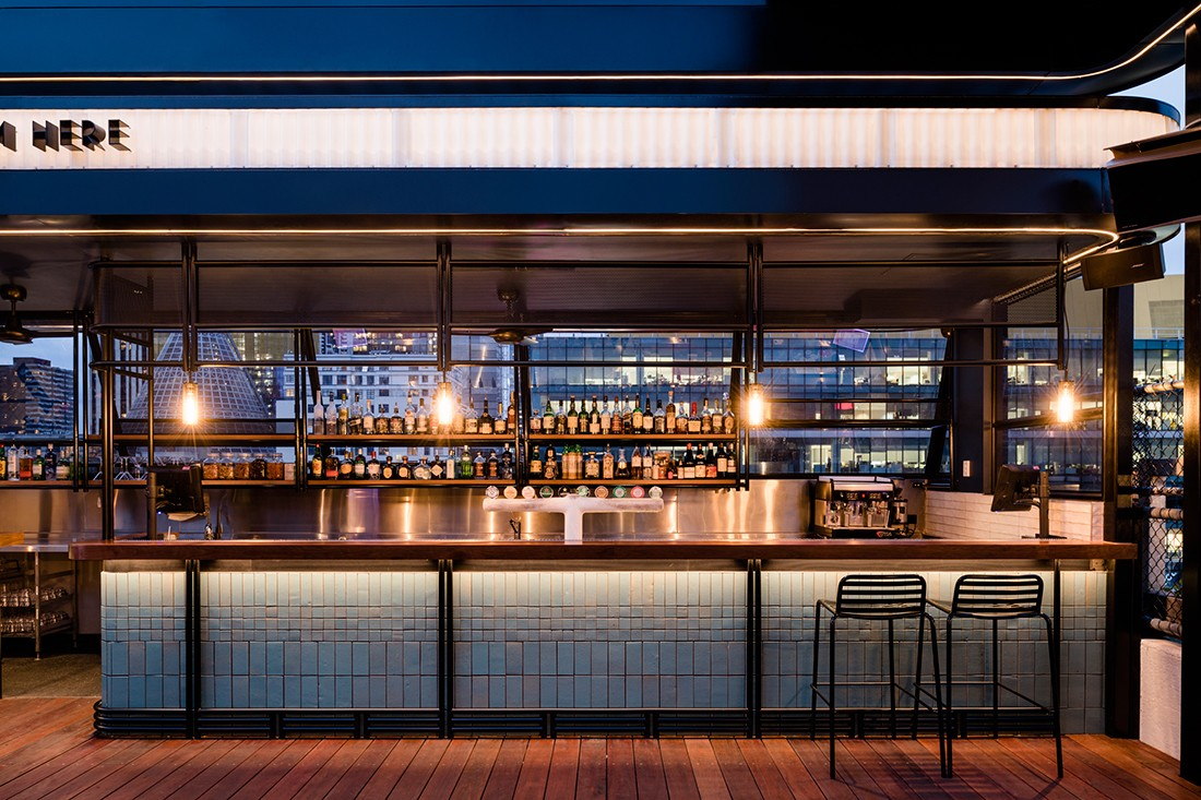 Technē revamps rooftop bar cinema indesignlive
