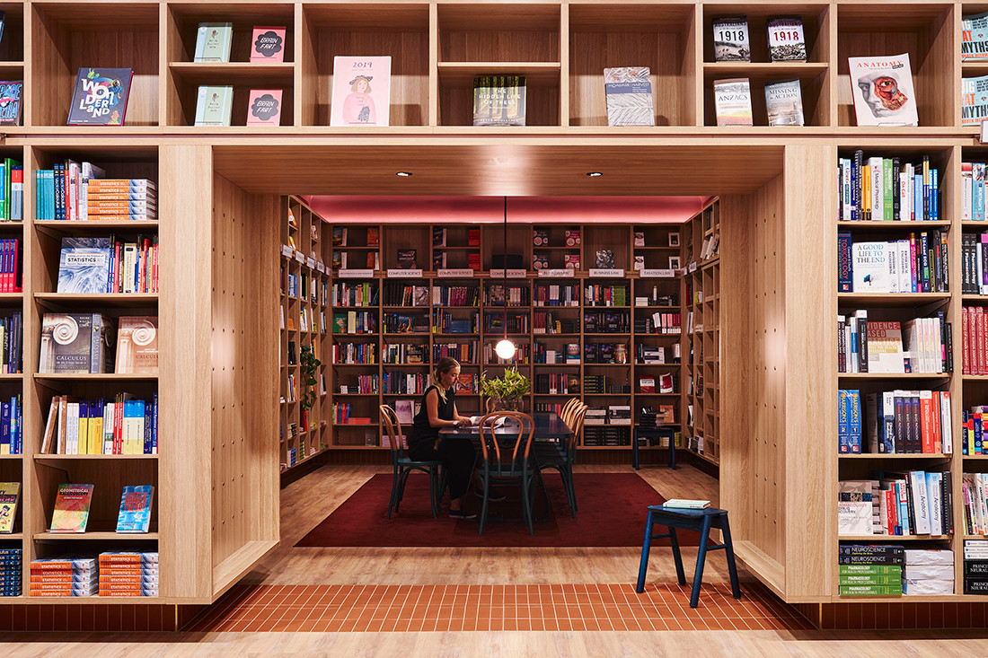SJB writes a new chapter for UNSW Bookshop | Indesignlive
