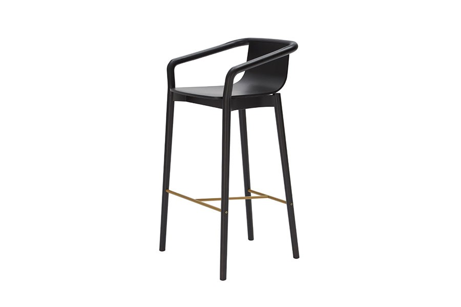 Thomas Bar Stool is a stool version of the popular Thomas Chair.