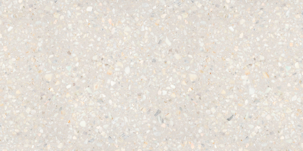 Retrostone is a softer update to Terrazzo-style finishes, despite the fact it uses an old technique.