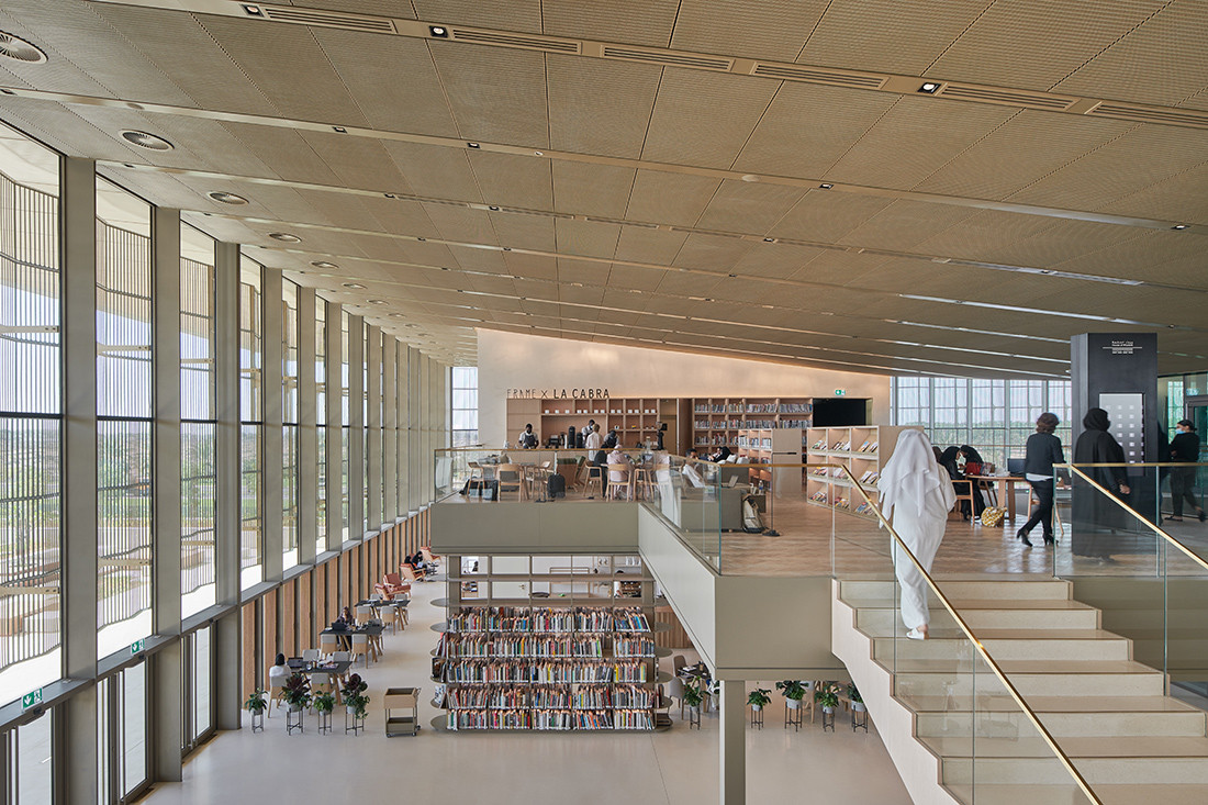What contemporary library design looks like at its best