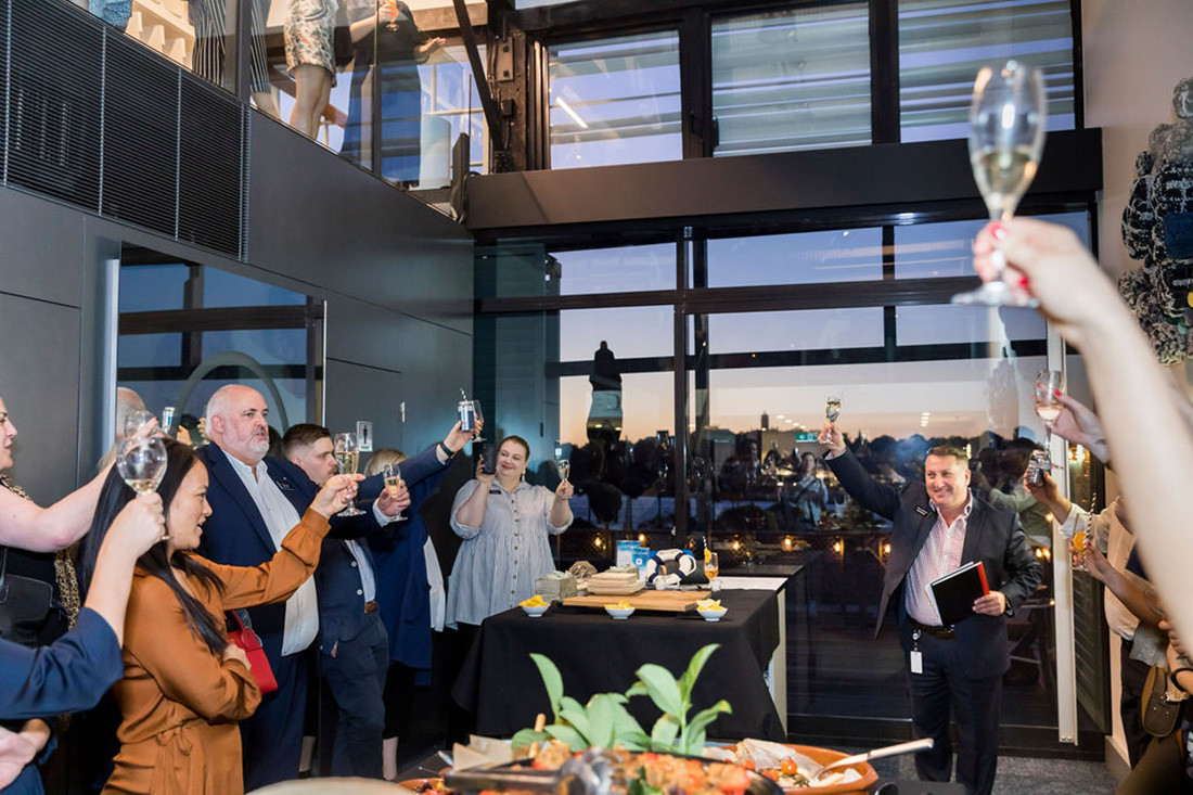 Seaside soirée: Shaw Contract launches Sydney harbour-side showroom