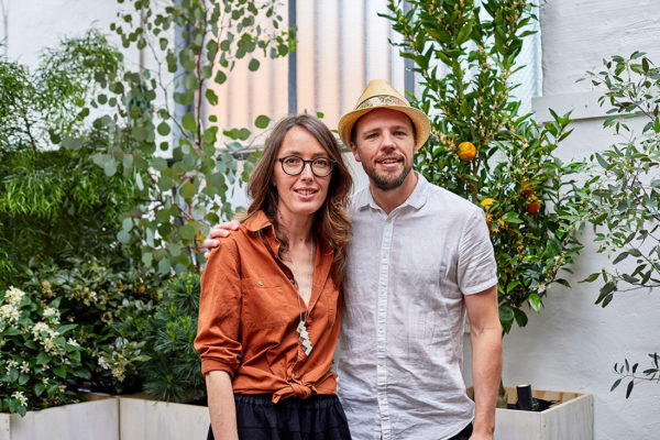 (L-R) Georgina Reid and Phillip Withers. Photo by Amelia Stanwix.