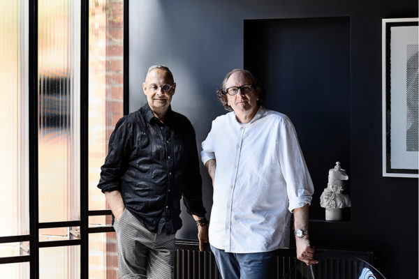 Stephen Crafti (left) chose to work with architect Robert Simeoni (right) having followed his work closely for 20 years.