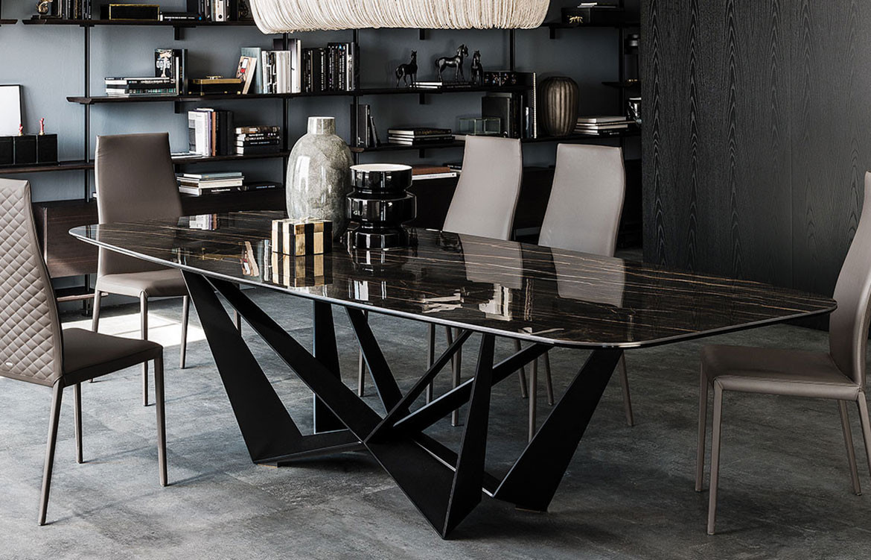 Skorpio Keramik Table Dark