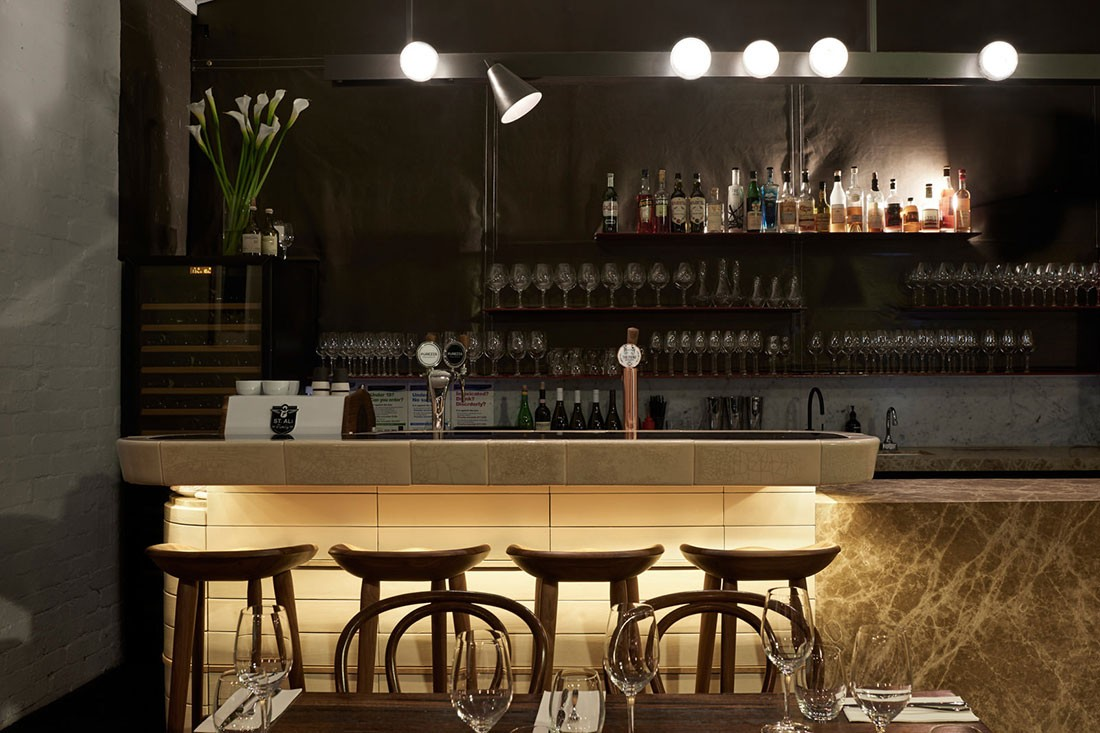 Smalls Wine Bar By Fiona Lynch. Photo By Dan Hocking, Styling By Marsha  Golemec.
