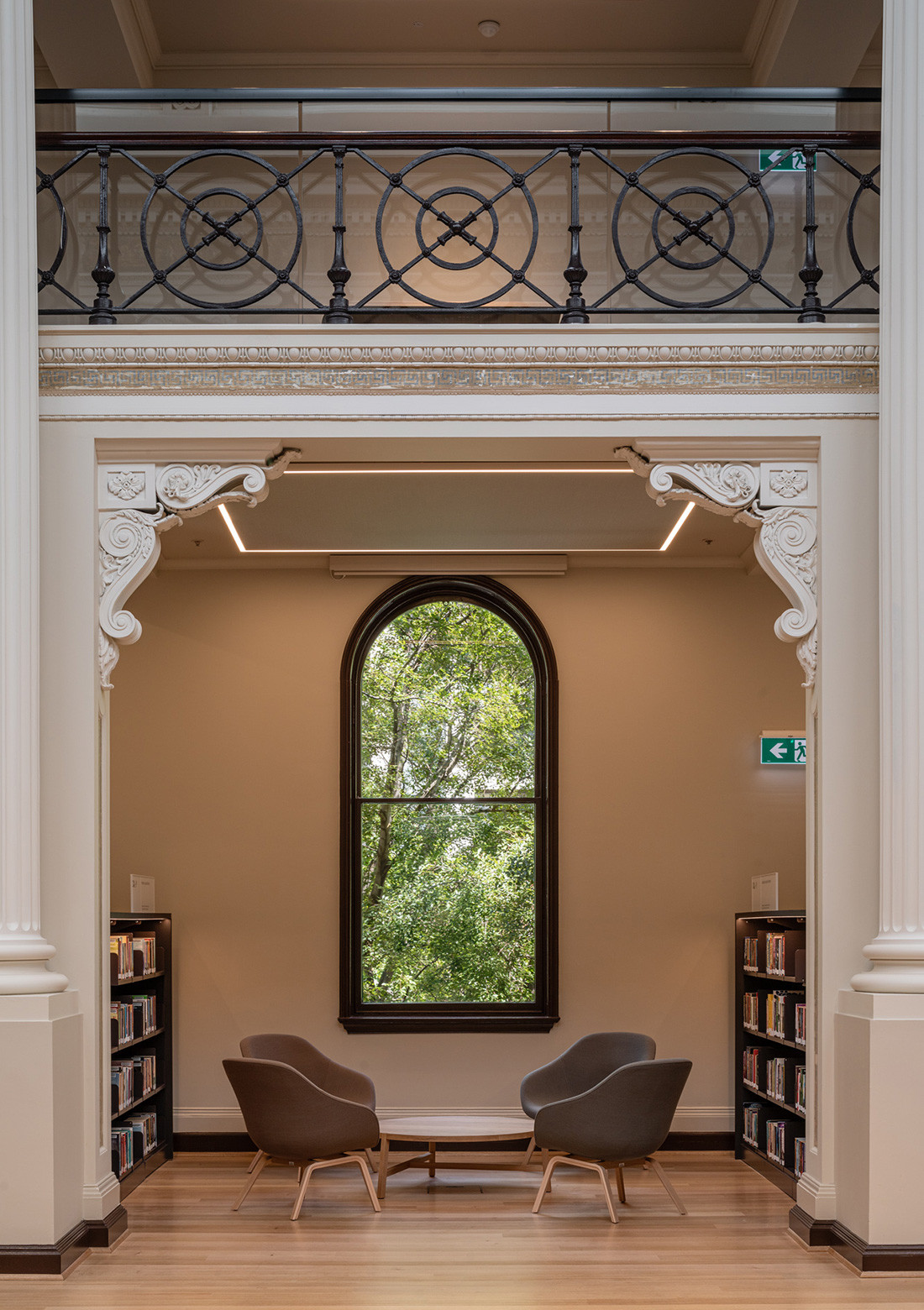Kvadrat Soft Cells in the State Library Victoria by Architectus and Schmidt Hammer Lassen Architects, photo: Trevor Mein.