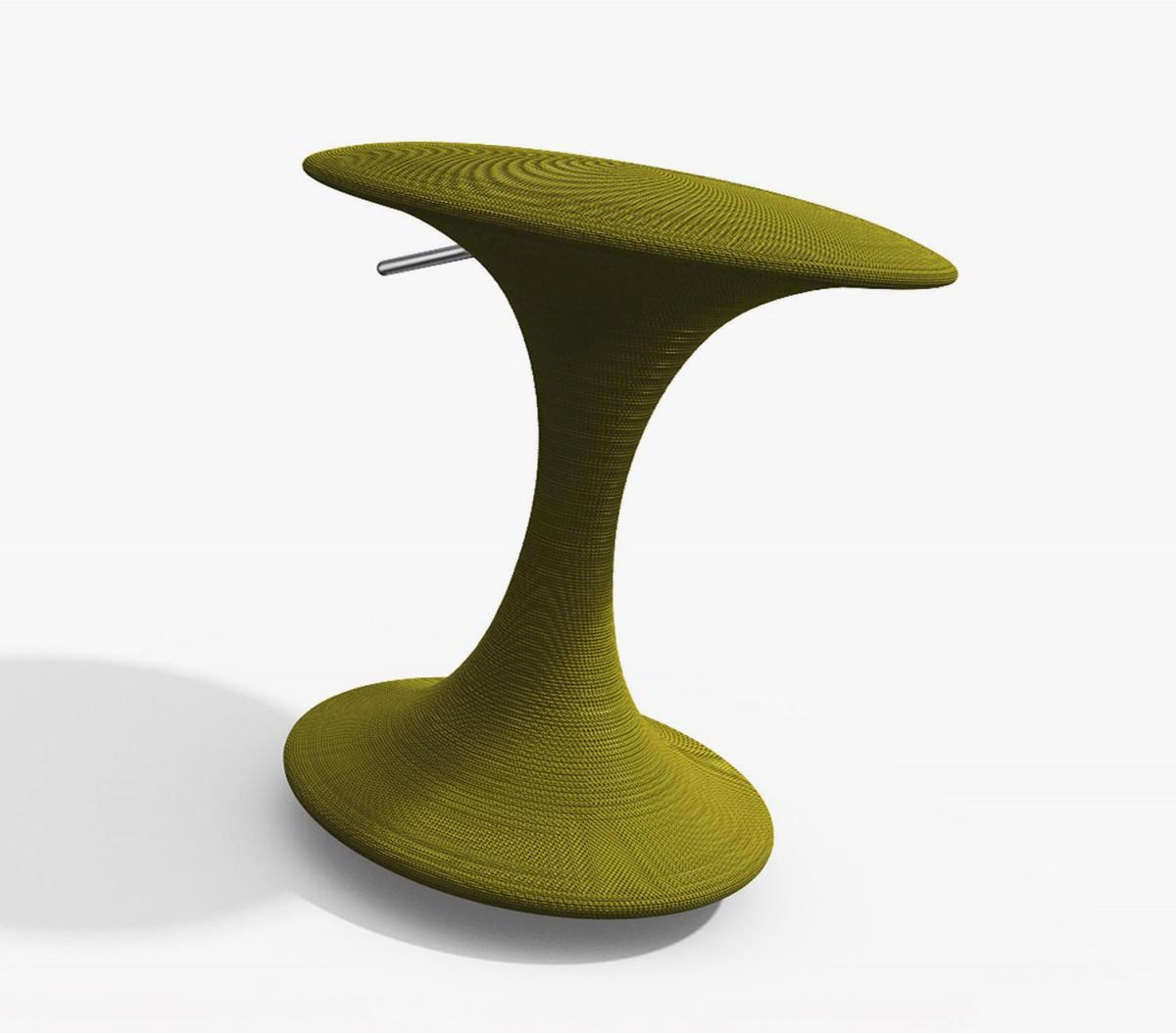 Spool stool by Charles Wilson.