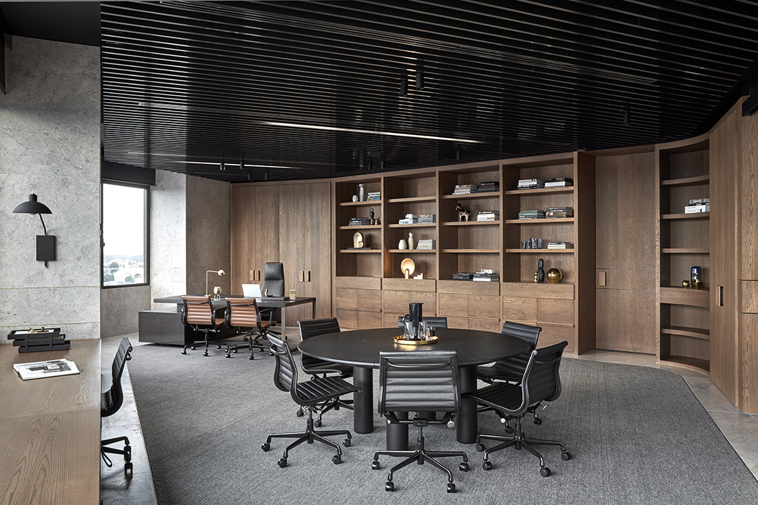 Tailor Made Pdg Headquarters By Studio Tate