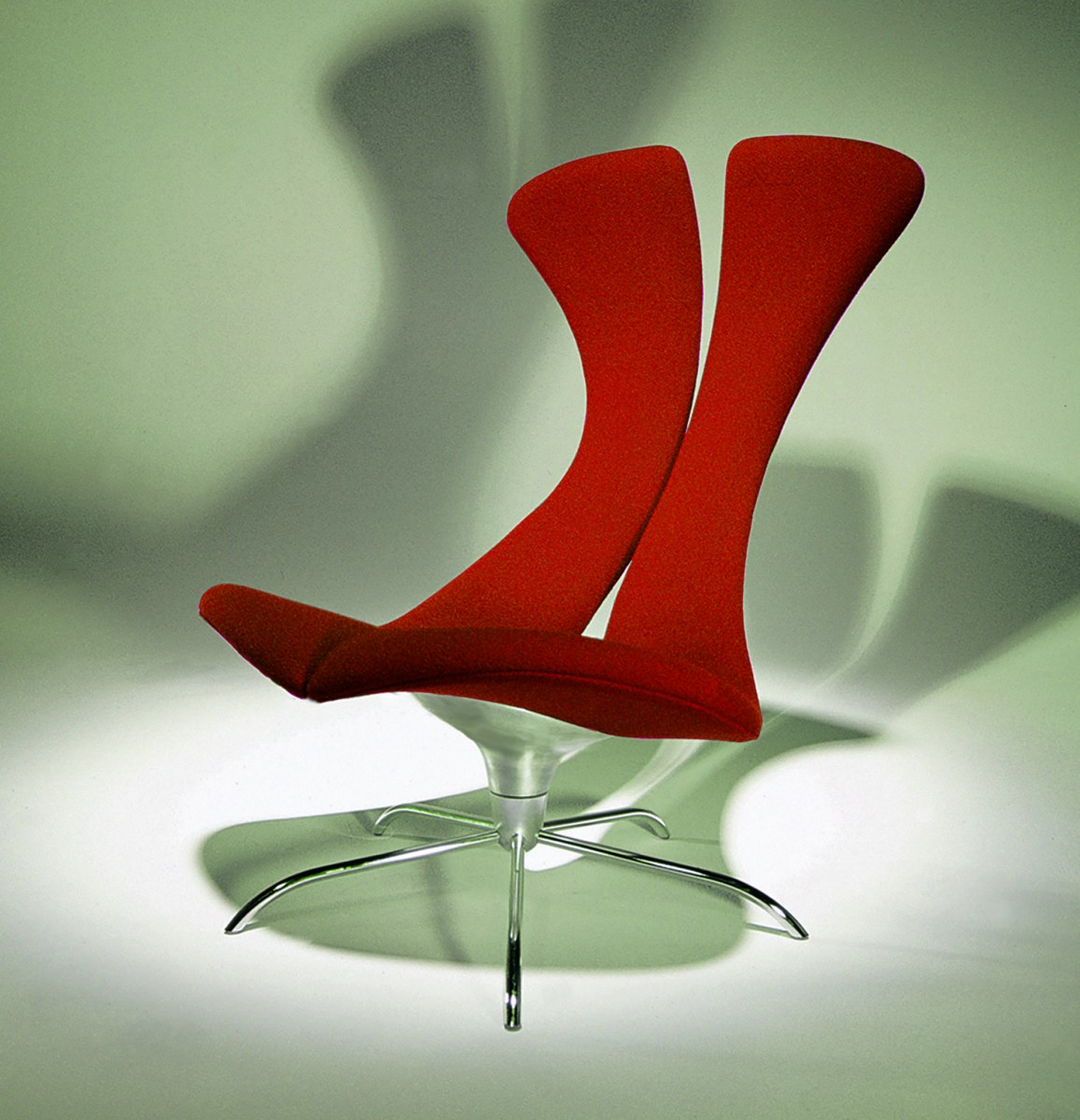 SW1 Swivel Chair by Charles Wilson, manufactured by Woolmark International, originally designed in the 90s.