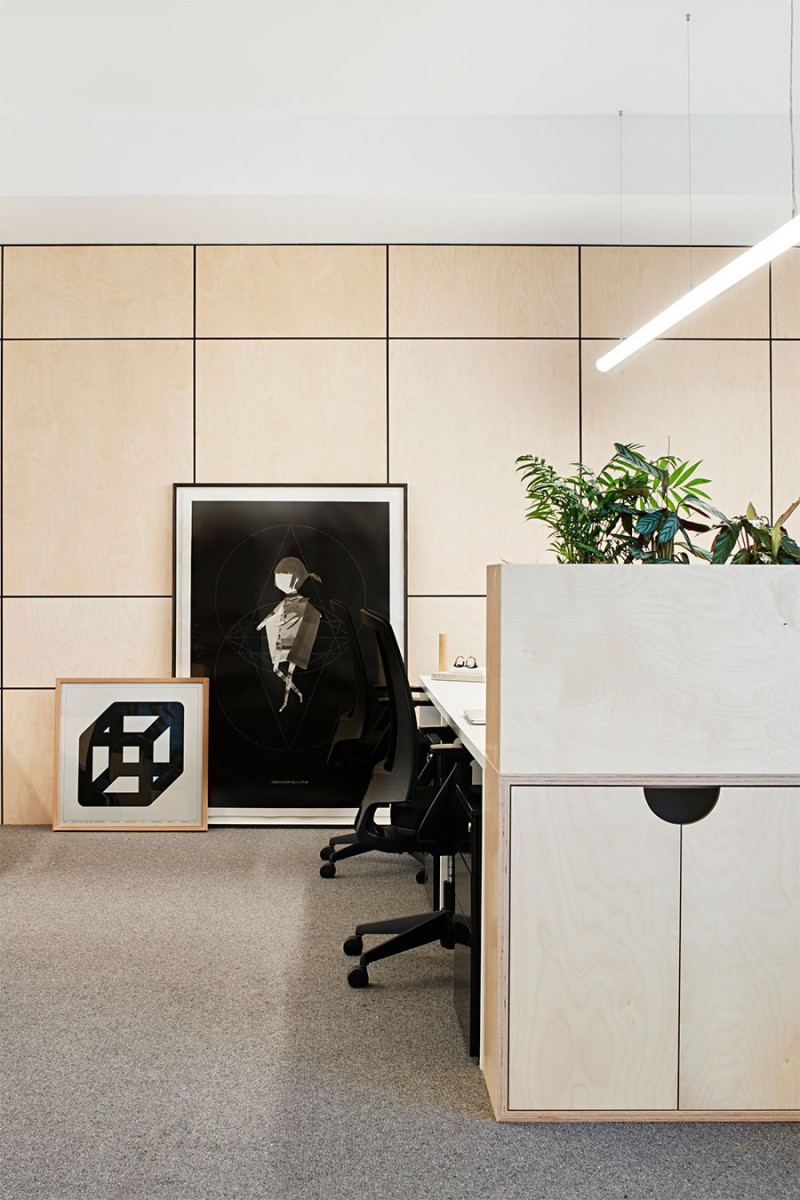 A minimalist office: Make Ventures HQ designed by Tecture | Indesignlive